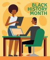 Black History Month Illustration