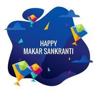 Happy Makar Sankranti vecteur