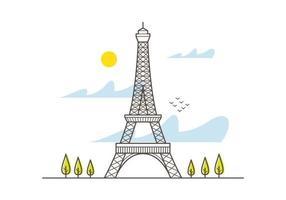 Eiffel Tower vecteur