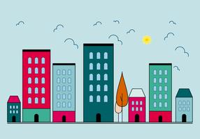 Free Buildings Vector