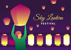 Super vecteurs de Taiwan Sky Lantern