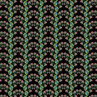 Beau fond de motifs floraux colorés décoratifs vecteur