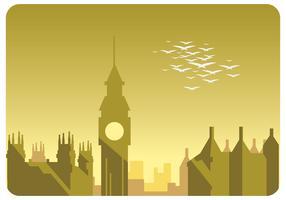 Vecteur de paysage de Londres