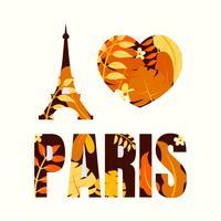 Paris vecteur
