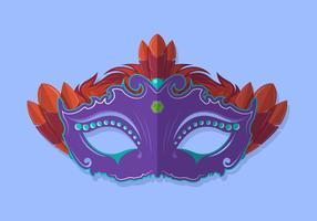 Carnevale Di Venezia Mask Vector Illustration