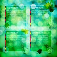 Modèle de site Web, cadre de conception de vecteur
