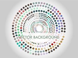 Cercles en cercles vecteur