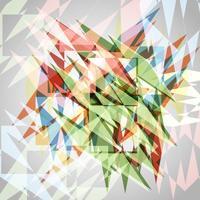 Eps10 coloré abstrait vecteur