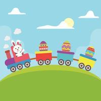 Illustration d'oeuf de Pâques