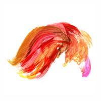 Aquarelle colorée abstraite vecteur