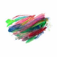 Design de fond aquarelle coloré abstrait vecteur