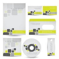 conception de modèle de couverture de cd vecteur