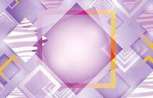 modèle de fond violet pastel géométrique abstrait vecteur
