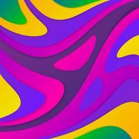 Abstraction moderne fond de formes colorées