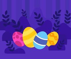 Fond de Pâques vecteur