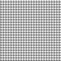 motif vectoriel continu en tissu pied-de-poule noir