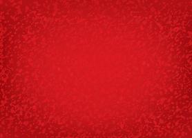 motif festif brossé pointillé rouge abstrait. fond texturé éclaboussure de point d'ondulation vecteur