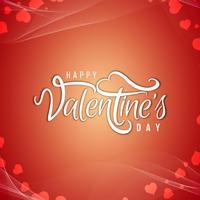 Heureuse Saint-Valentin beau fond de carte