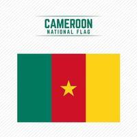 drapeau national du cameroun vecteur