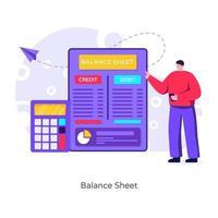 bilan financier vecteur