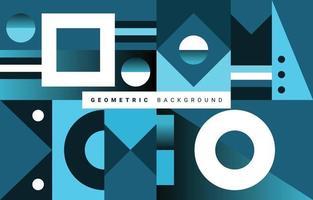 fond de couleur dégradé de forme géométrique abstraite vecteur