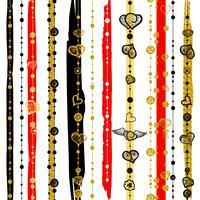 Seamless patterns Saint Valentin