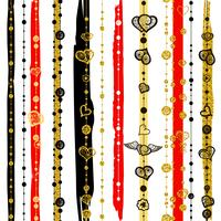 Seamless patterns Saint Valentin vecteur