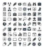 Ensemble d'icônes vectorielles utiles vecteur