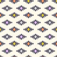 Modèle sans couture tribal de vecteur. Boho moderne texture élégante