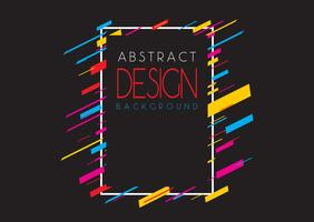Fond de conception abstraite
