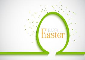 Fond d'oeuf de Pâques simple