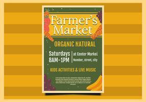 Flyer Design Farmer's Market