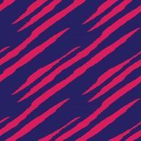 modèle sans couture de fourrure de coup de pinceau violet vecteur