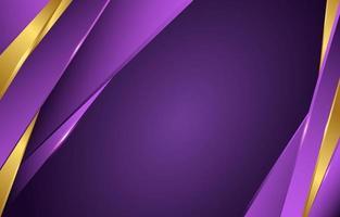 violet doré avec accent doré vecteur