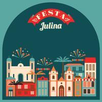 Fête latino-américaine, la fête du mois de juin au Brésil.