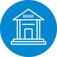 Banque Vector Icon