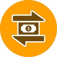 icône de vecteur de transaction