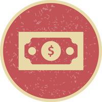 Billet de banque Vector Icon