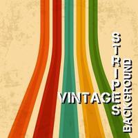 fond vintage avec des textures grunge. toile de fond de lignes de texture rétro. illustration vectorielle. vecteur