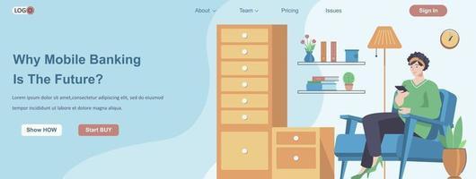 concept de bannière web de société de conseil en gestion mondiale vecteur