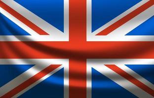 drapeau de la Grande-Bretagne. Royaume-Uni vecteur
