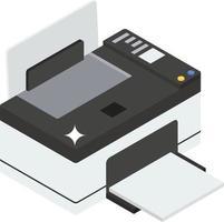 concepts d'imprimantes tendance vecteur