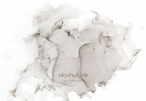 peinture d'art fluide abstrait de luxe naturel en technique d'encre à l'alcool. vecteur