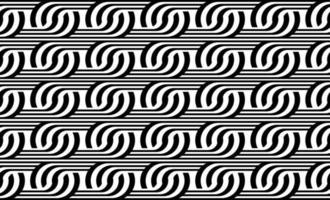 papier répétitif vectoriel, lignes, vis, lignes torsadées, noir et blanc, emballage, image de marque, textile, papier peint, garniture d'arrière-plan vecteur