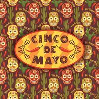 Cinco de Mayo. Illustration vectorielle vecteur
