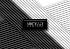 abstrait de fond de ligne à rayures noires et blanches. vecteur