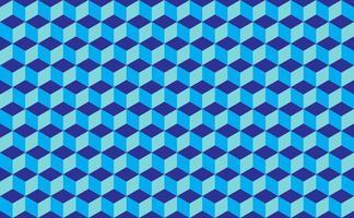 arrière-plan abstrait en forme de cube isométrique. illustration vectorielle de modèle sans couture vecteur