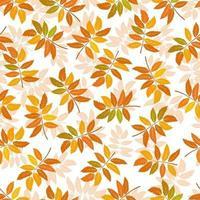 vecteur de fond transparent de feuilles d'automne. arrière-plan pour les couvertures textiles ou de livres, le papier peint, le design, les graphiques, l'impression et les loisirs.