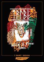 Illustration vectorielle avec le slogan pour t-shirts