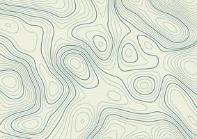 abstrait avec une conception de paysage de topographie de contour vecteur